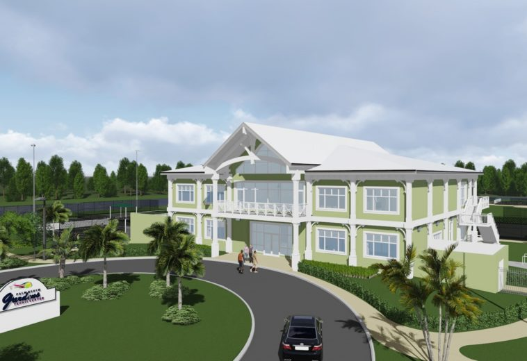 Palm Beach Gardens Tennis Center Clubhouse