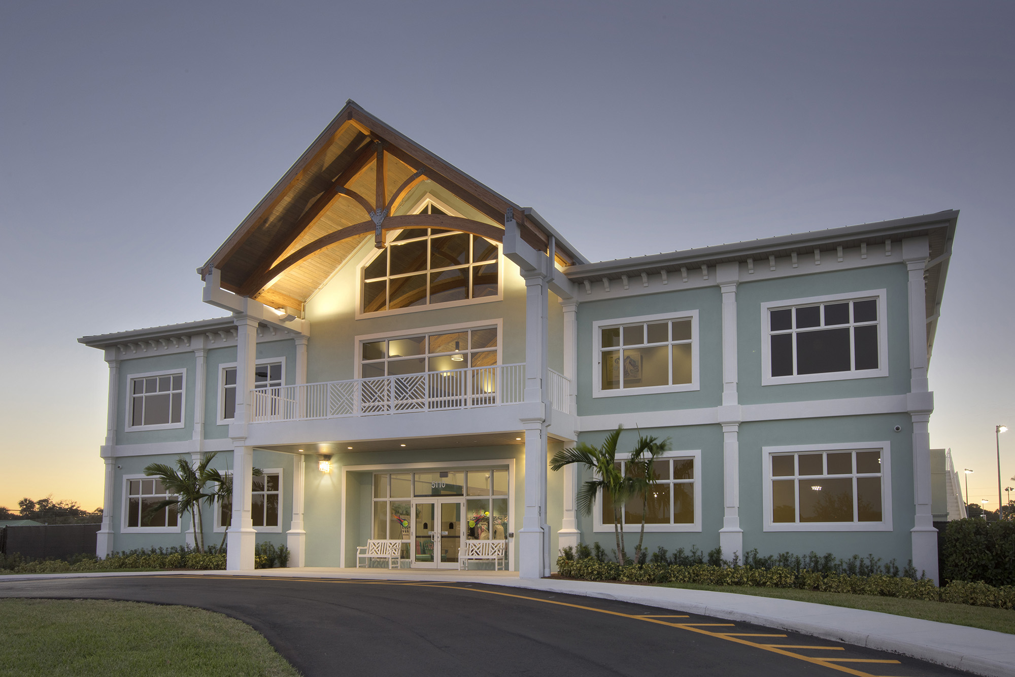 Palm Beach Gardens Tennis Center Clubhouse